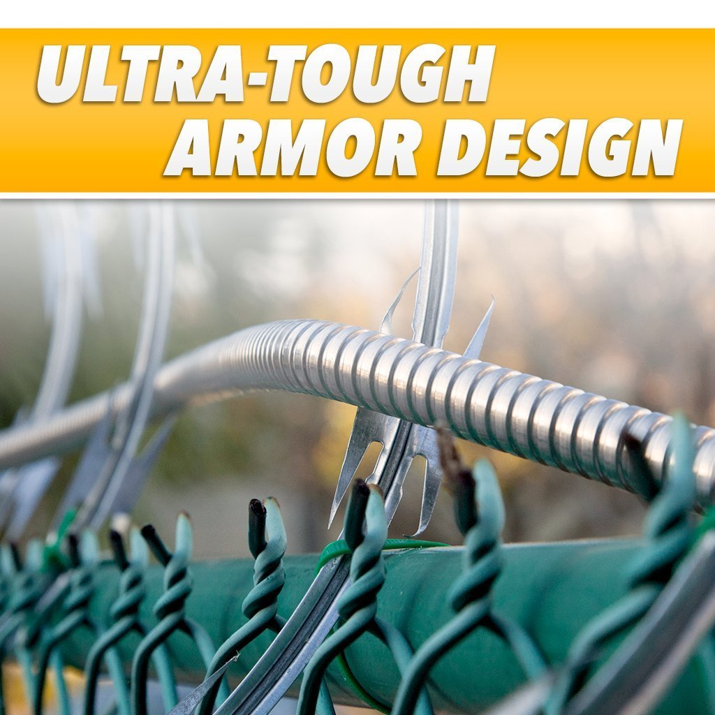 Hercules Hose infographic showing ultra-tough armor design image from BulbHead