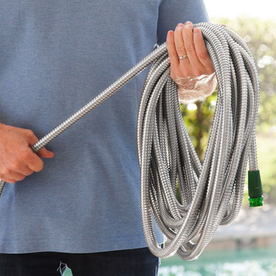 Hercules Hose being rolled on hand image from BulbHead