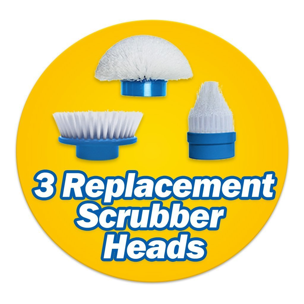 Hurricane Spin Scrubber Replacement Heads image from BulbHead
