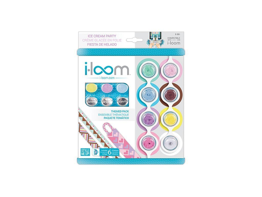ICE CREAM PARTY I-Loom Bracelet Kit image from BulbHead