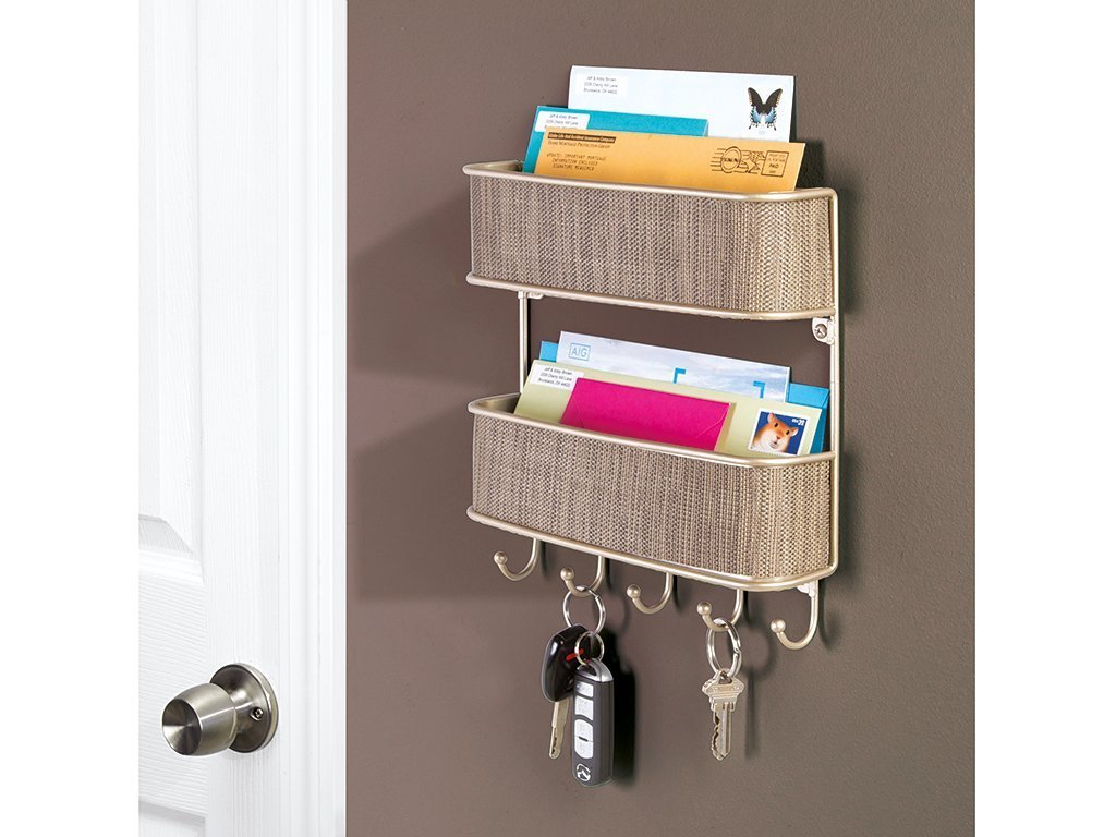 Interdesign Twillo Mail Organizer and Key Holder image from BulbHead