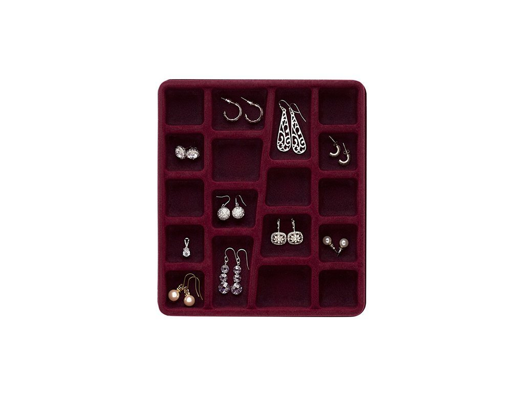 18 COMPARTMENTS Jewelry Organizer image from BulbHead