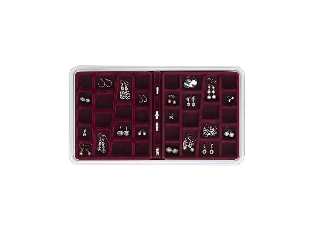 36 COMPARTMENTS Jewelry Organizer image from BulbHead