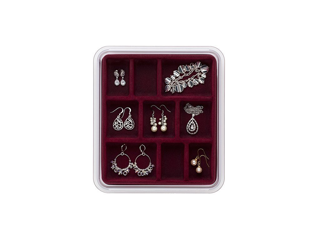 9 COMPARTMENTS Jewelry Organizer image from BulbHead