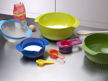 Joseph Joseph 9 Piece Nesting Mixing Bowls image from BulbHead