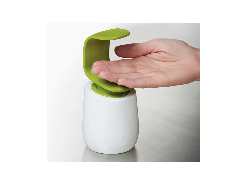 LIME Joseph Joseph C-Pump Single Handed Soap Dispenser image from BulbHead