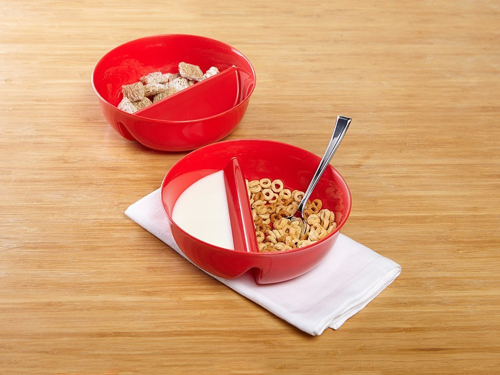 Just Crunch Anti-Soggy Cereal Bowl - Set of 2 image from BulbHead