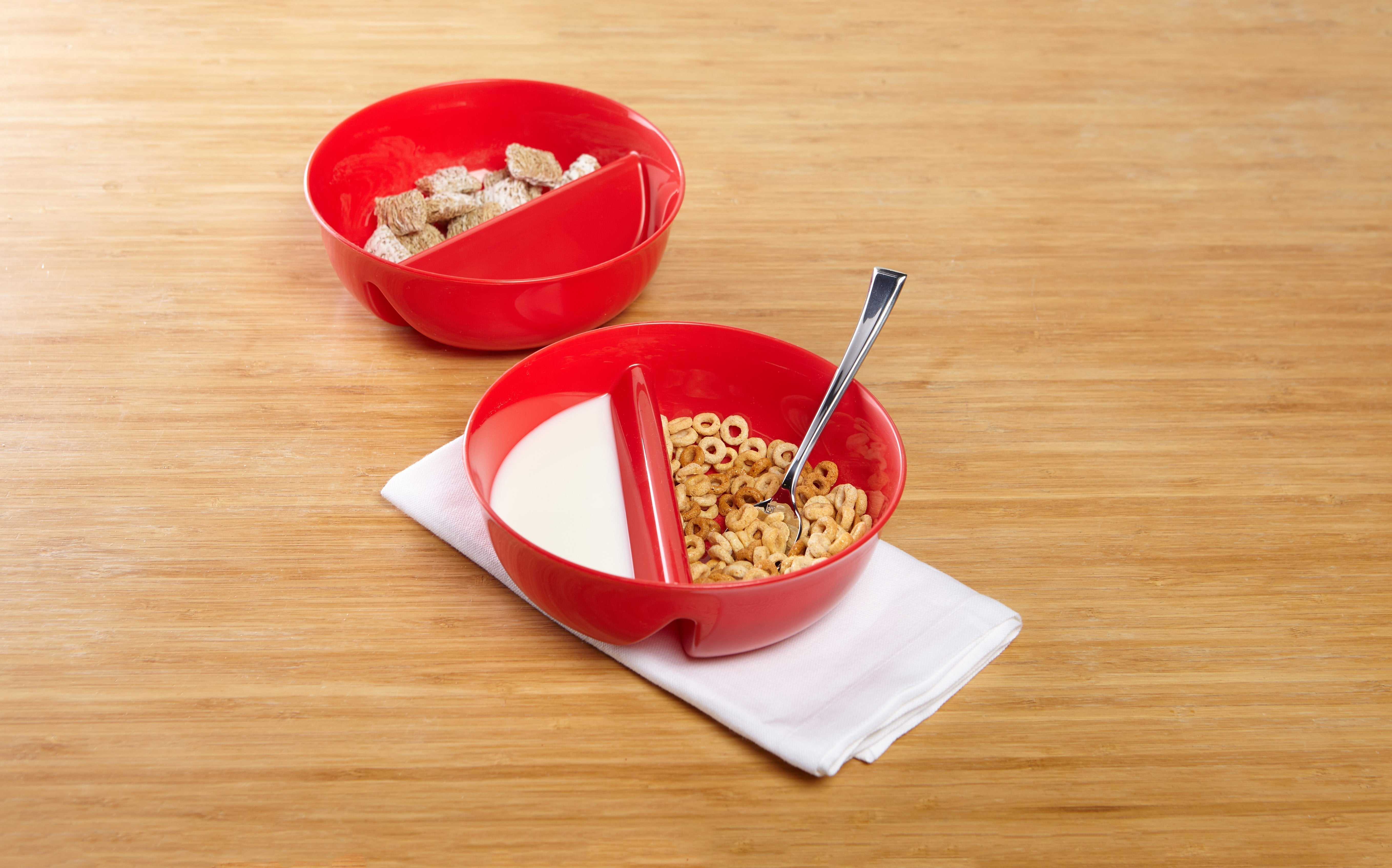 Just crunch anti soggy cereal bowl set of 2 bulbhead red just crunch anti soggy cereal bowl set of 2 image from bulbhead ccuart