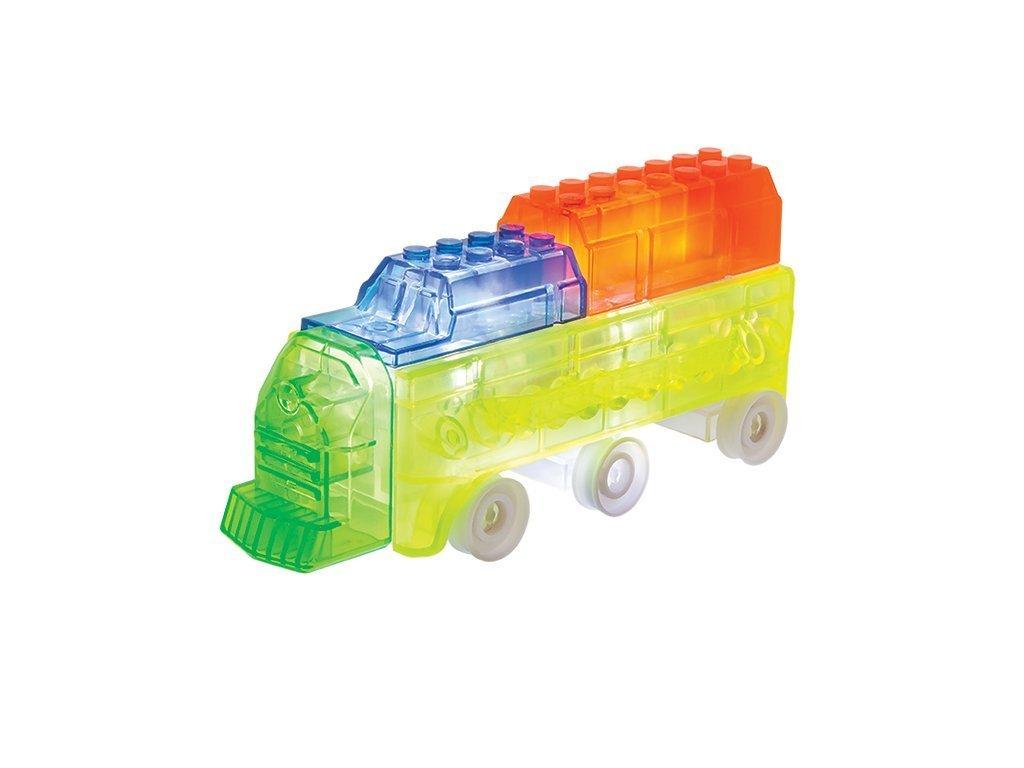 Laser Pegs Junior Trains Kit image from BulbHead