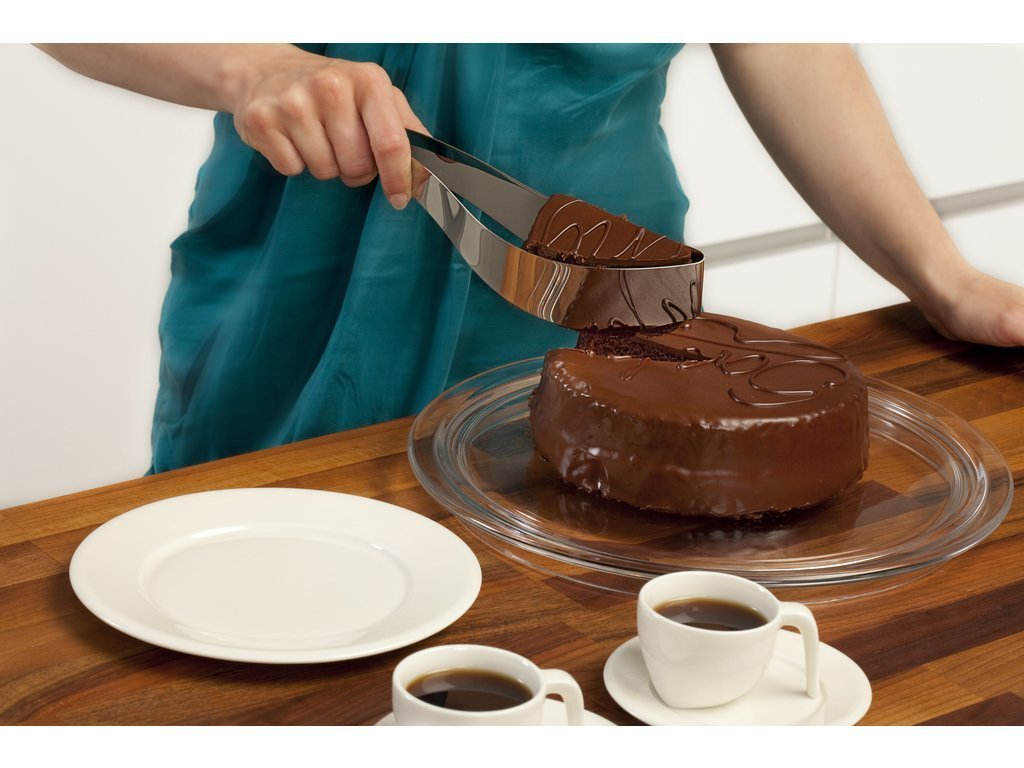 Magisso Stainless Steel Cake Server image from BulbHead