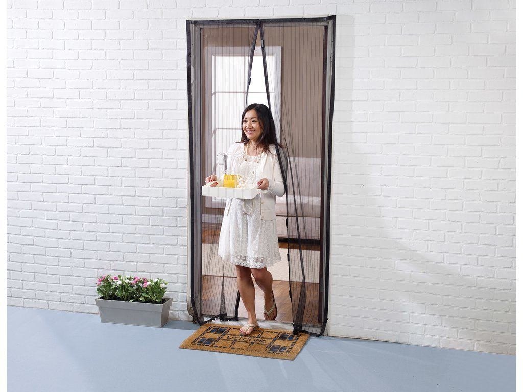 Superb Magnetic Mesh Door Screen Image From BulbHead