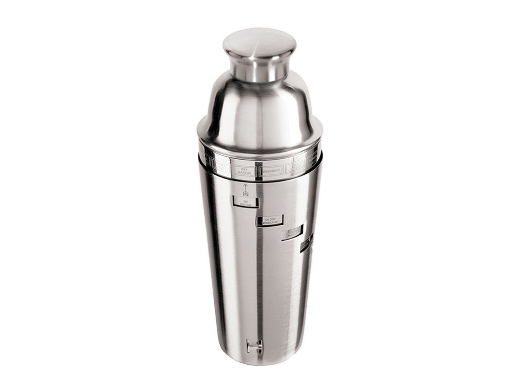 Oggi Dial-A-Drink Stainless Steel Cocktail Shaker image from BulbHead