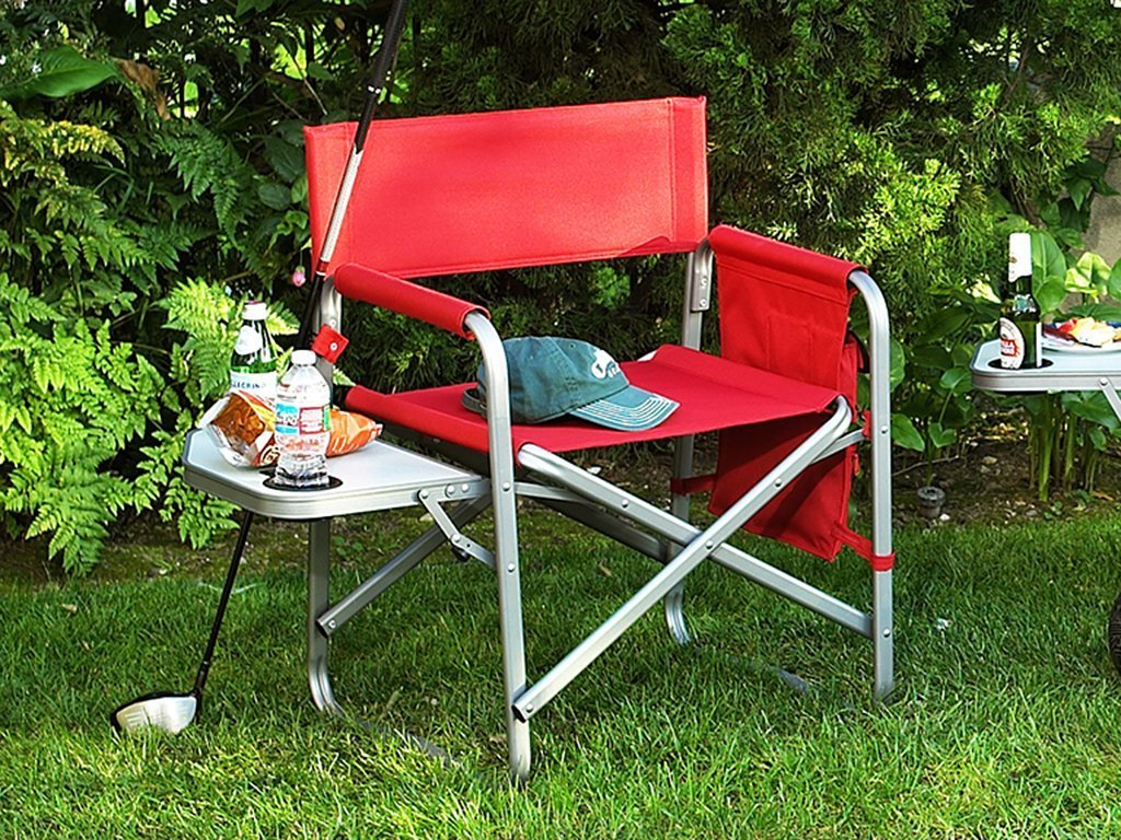 Picnic At Ascot Deluxe Sports Chair W/Table image from BulbHead