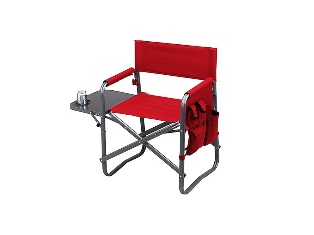 RED Picnic At Ascot Deluxe Sports Chair W/Table image from BulbHead