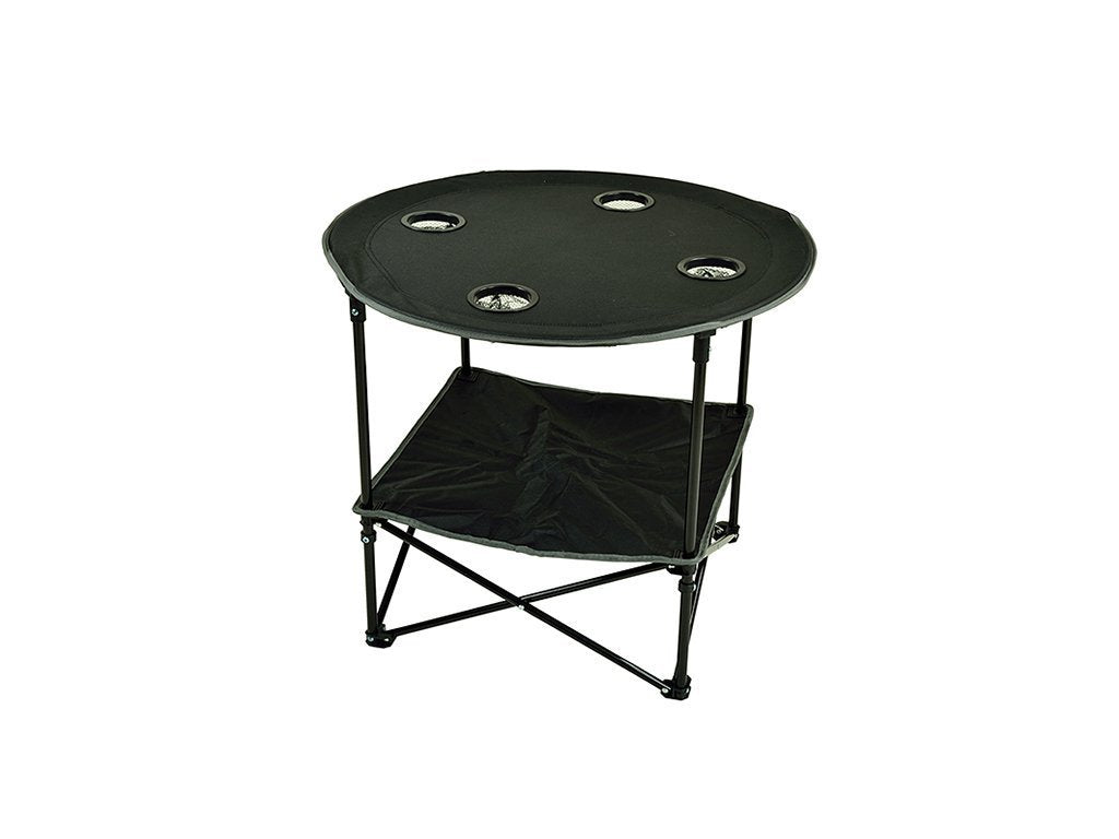 BLACK Picnic At Ascot Travel Folding Table image from BulbHead