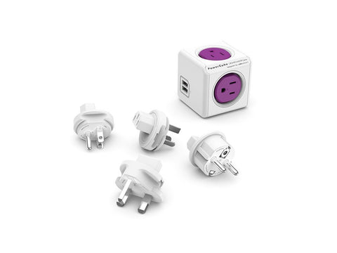 Powercube Rewirable Usb + 4 Plugs