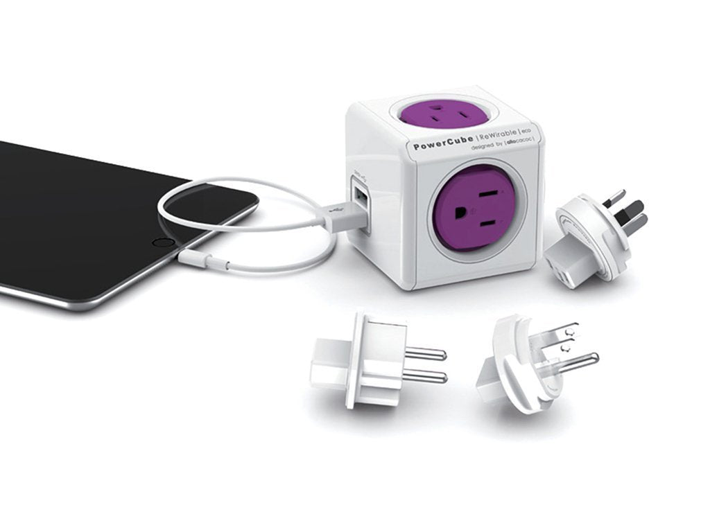 Powercube Rewirable Usb + 4 Plugs image from BulbHead