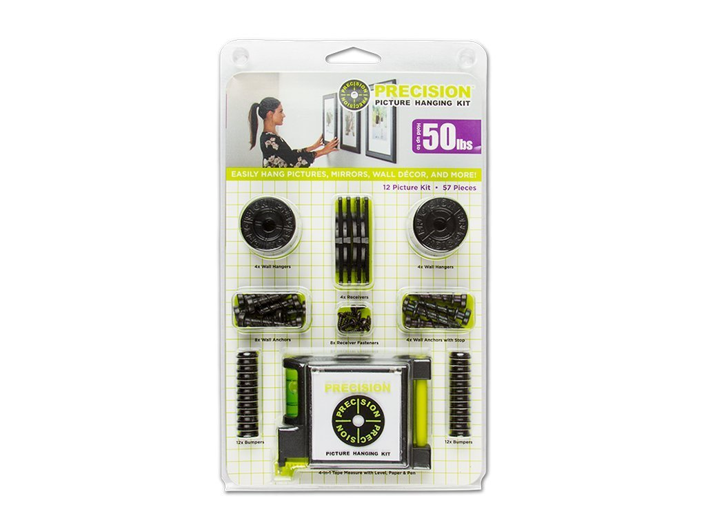 Precision Picture Hanging Kit with Tape Measure image from BulbHead