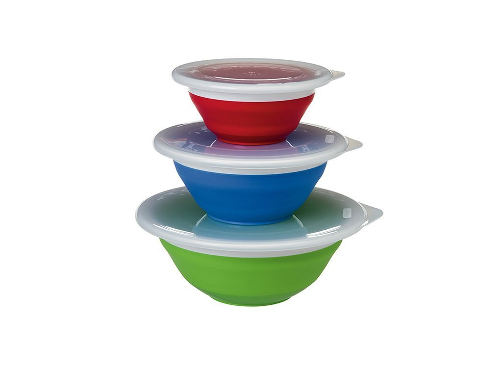 Progressive Collapsible Storage Bowls - Set of 3 image from BulbHead