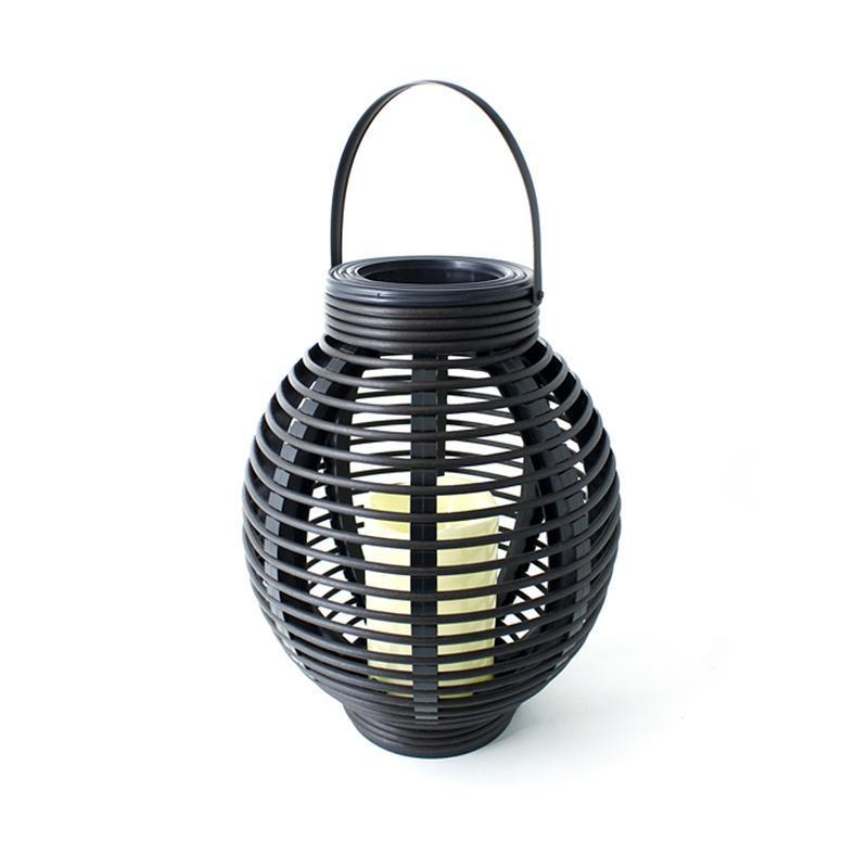 Rattan Oblong Basket Candle image from BulbHead