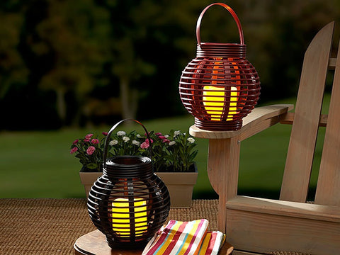 Rattan round basket candle bulbhead 2382001831994 large