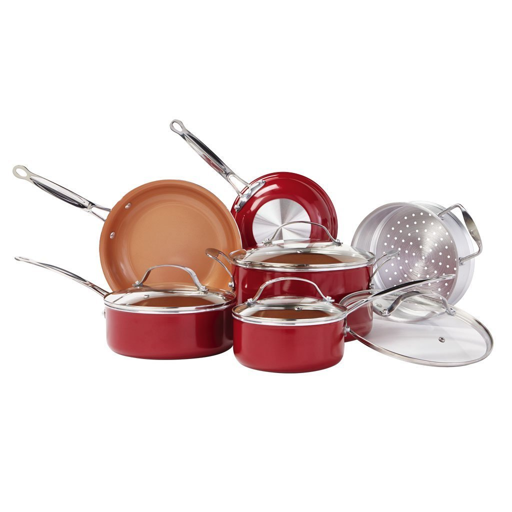 Red Copper 10 Piece Set Bulbhead