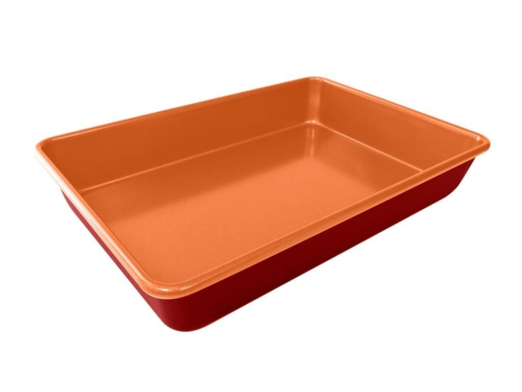 Red Copper Baking Pan Bulbhead