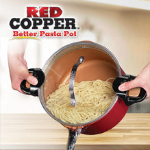 Red Copper Better Pasta Pot image from BulbHead