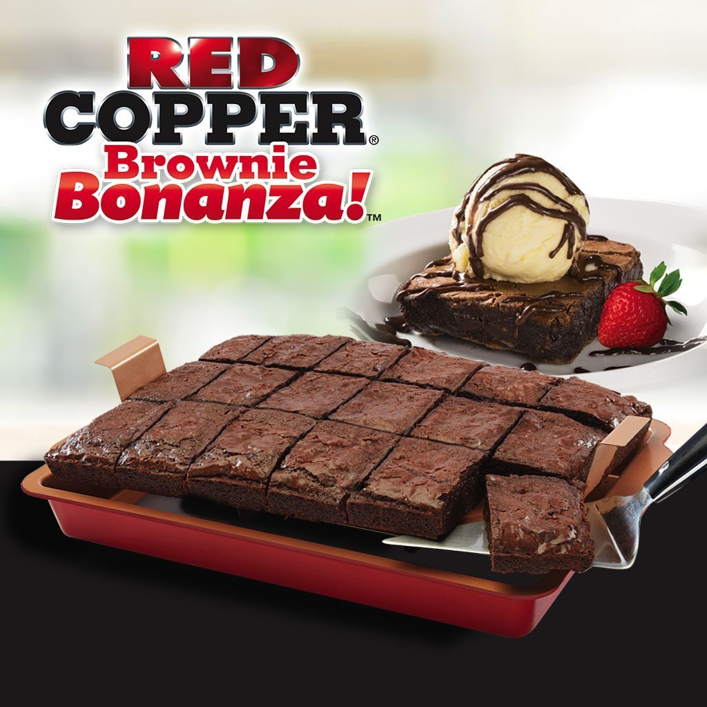 Red Copper Brownie Bonanza Pan image from BulbHead