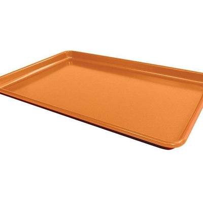 Red Copper Cookie Sheet image from BulbHead