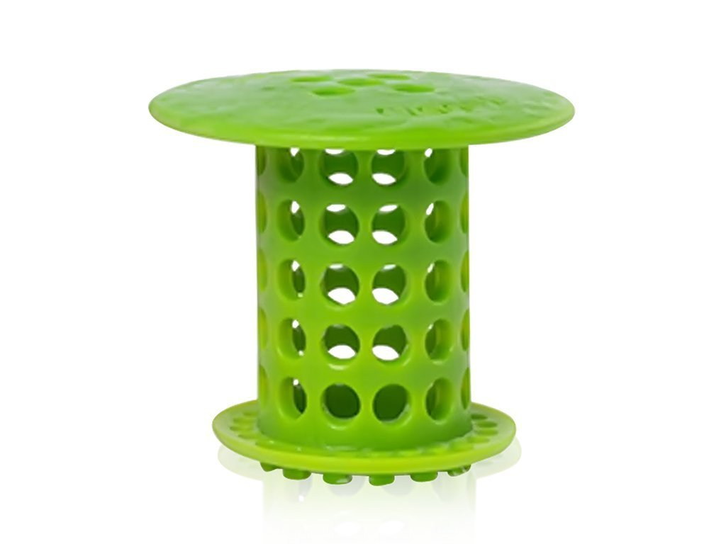 BRIGHT GREEN Tubshroom Hair Catcher image from BulbHead