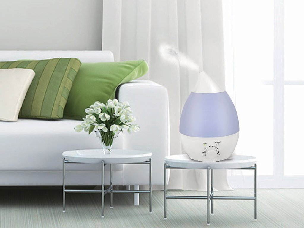 Ultrasonic LED Cool Mist Air Humidifier image from BulbHead