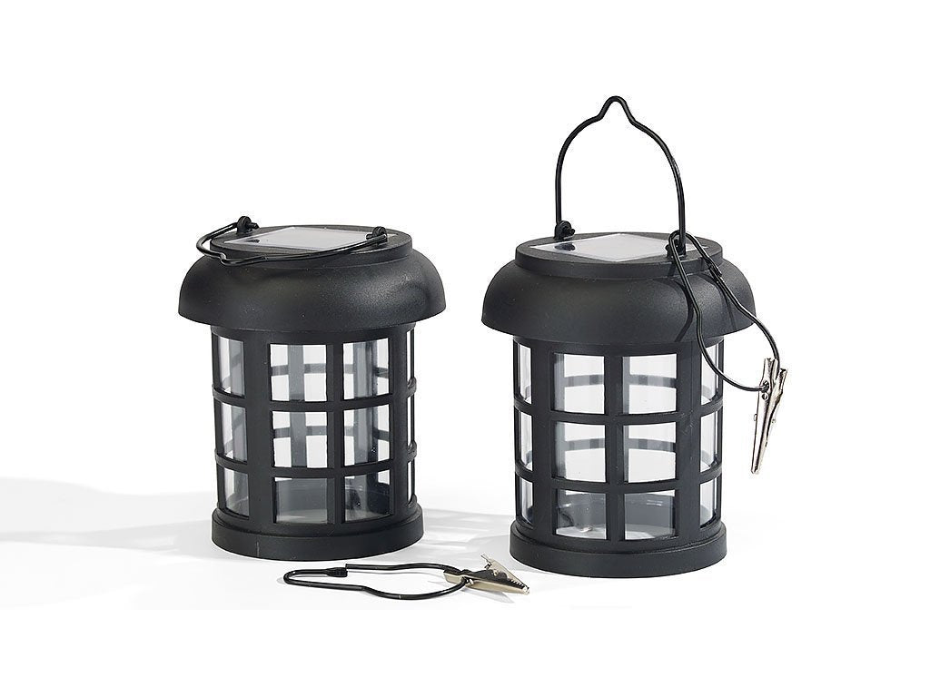 Umbrella Hanging Solar Lantern - Set of 2 image from BulbHead