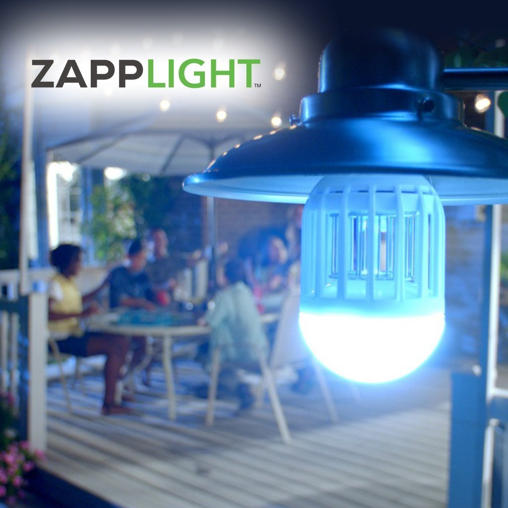 ZappLight Bug Zapper and LED Light | BulbHead
