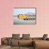 Jal Mahal (Water Palace) with Man Sagar Lake in Jaipur, India multi panel canvas wall art