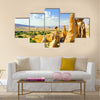 Magnificent rock landscape. Cappadocia, Turkey, multi panel canvas wall art