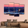 Istanbul Bosporus Bridge on sunset multi panel canvas wall art