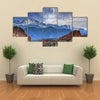 A Beautiful Illustration Of The Garden Of The God, Multi Panel Canvas Wall Art