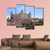 Panorama of the alcazar in Toledo, Spain multi panel canvas wall art