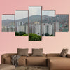 Spectacular view of the city of Caracas, capital of the Bolivarian Republic of Venezuela, Multi Panel Canvas Wall Art
