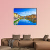 View of Ponte Vecchio, Florence, Italy multi panel canvas wall art