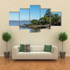 Pier at Marina Colonia Sacramento Uruguay Multi panel canvas wall art