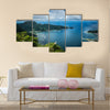 Pago pago american samoa hill view over the island Multi panel canvas wall art