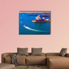 Travel to the Australia, the magnificent Sydney Harbor multi panel canvas wall art
