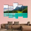 Amazing Emerald Lake Multi panel canvas wall art