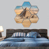 Egypt Cairo - Giza hexagonal canvas wall art