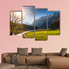 View on spring landscape by Berchtesgaden in Germany wall art