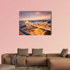 Beautiful overpass in the night multi panel canvas wall art