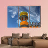 National Palace Sintra multi panel canvas wall art