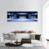 Bowling Pins Panoramic Canvas Wall Art